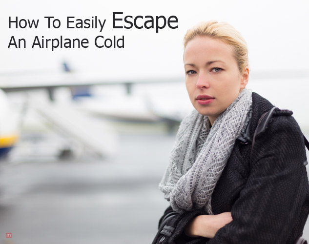 an airplane cold