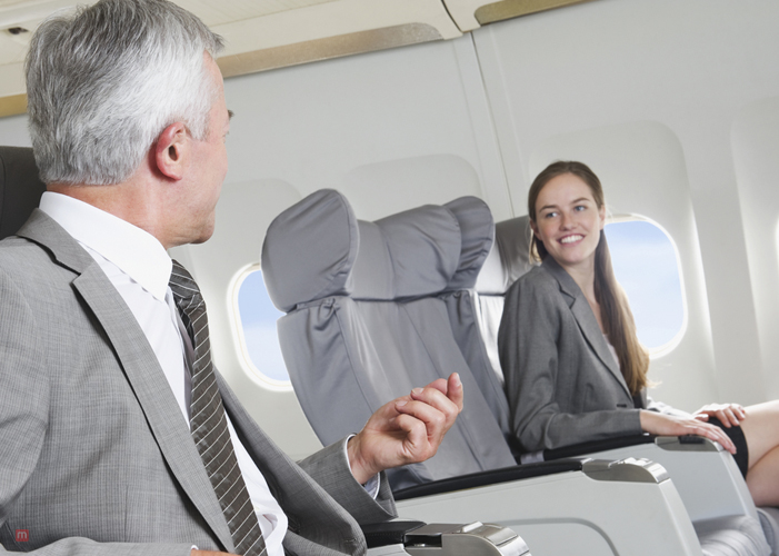 Middle Seat In A Plane